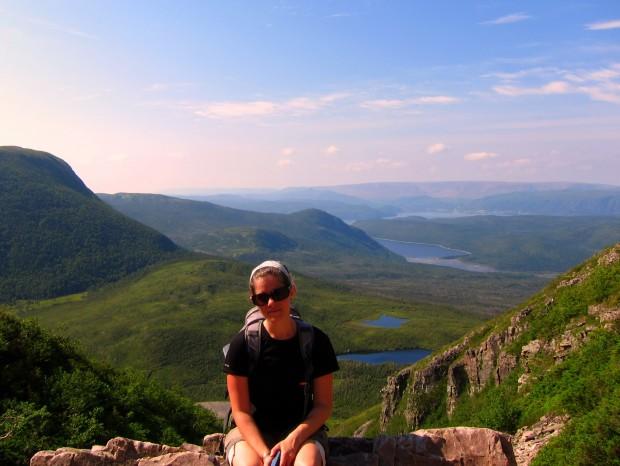 Summiting Gros Morne in Newfoundland