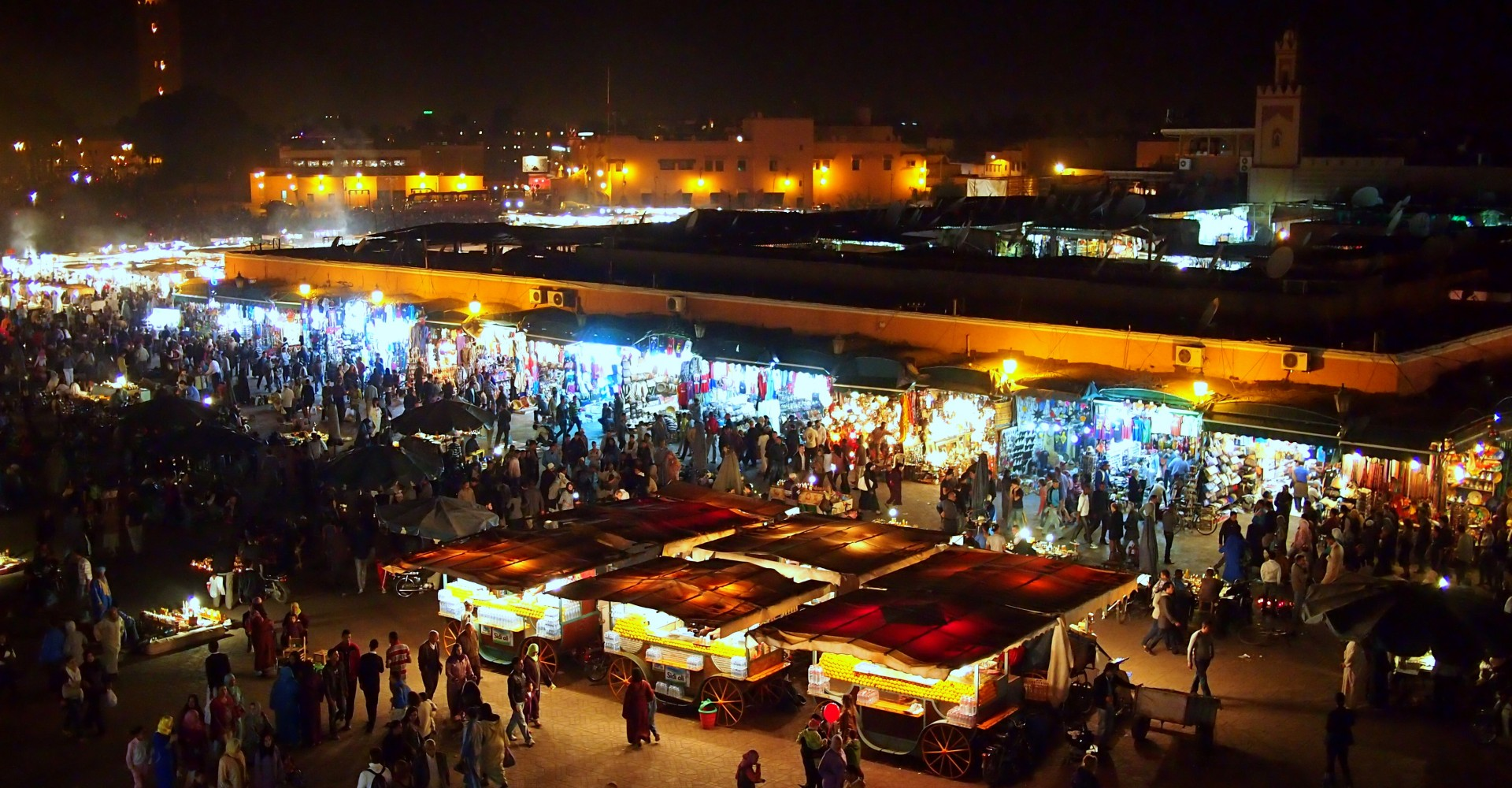 Sensory Overload at Marrakesh's Djemaa el-Fna
