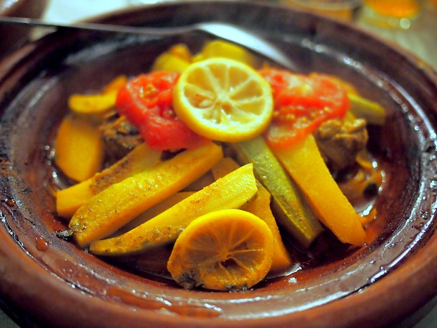 How to make tagine: the finished product