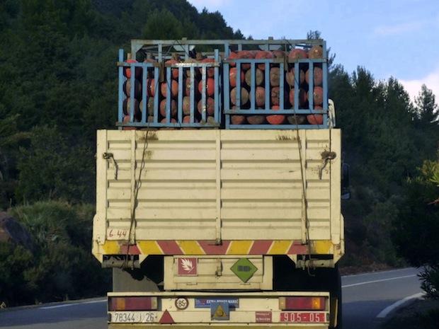 Road hazards in morocco