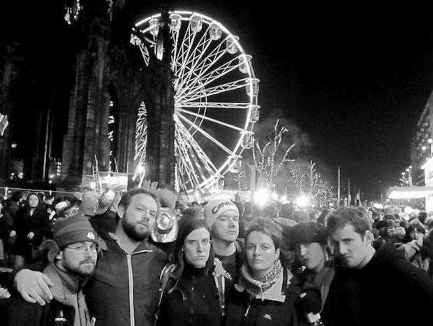 Hogmanay with Team Commonwealth