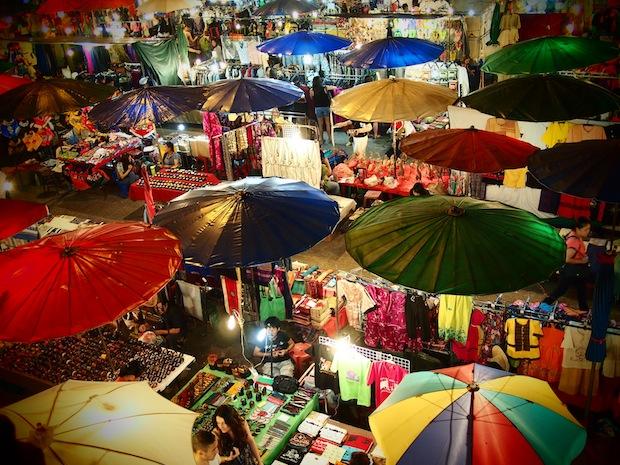 Despite the Smog, Some Colourful Scenes in Chiang Mai