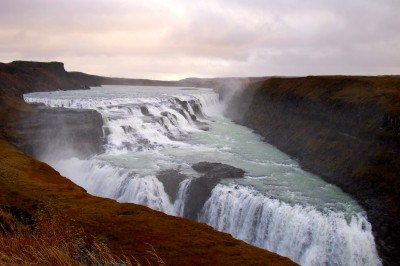 gulfoss in iceland