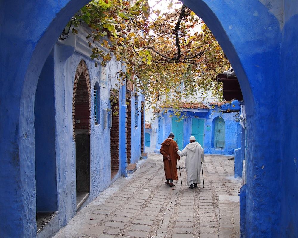 Vivid Memories in Chefchaouen, Morocco