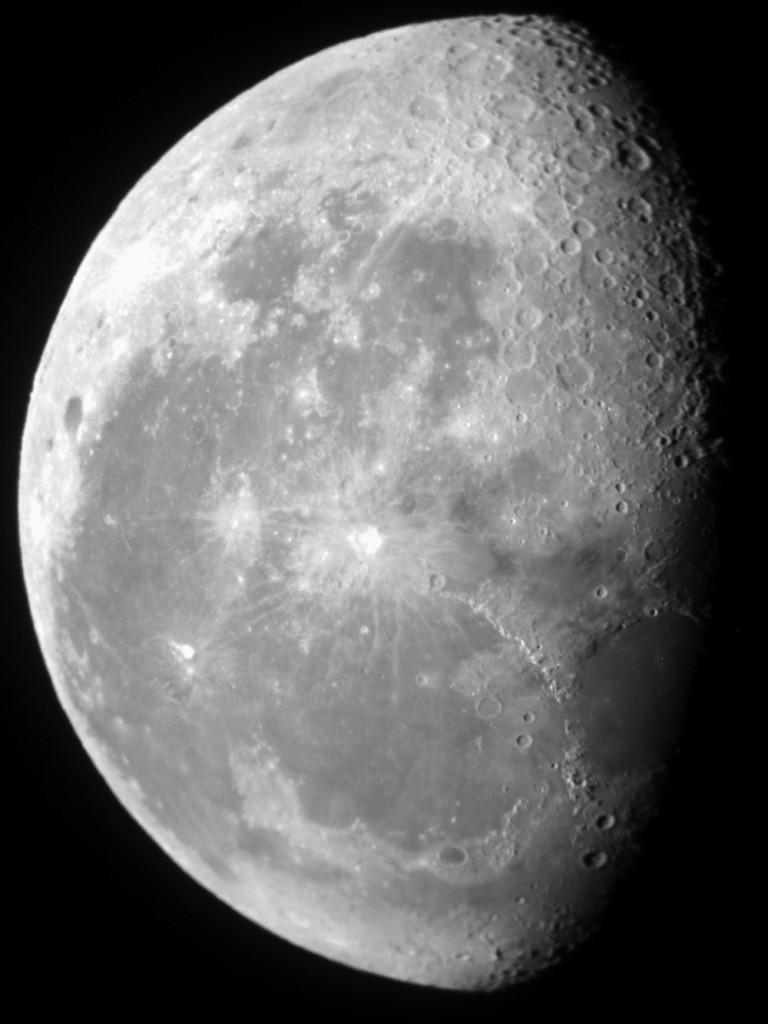 The Overview Effect - moon over San Pedro de Atacama
