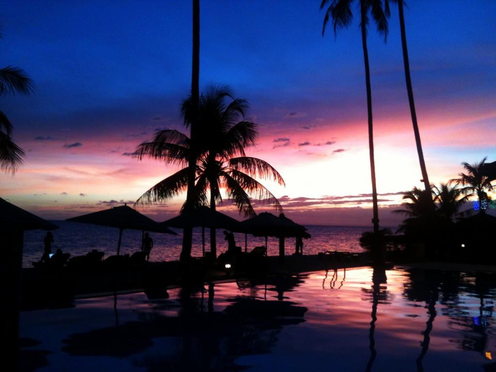 Sunset in Mui Ne