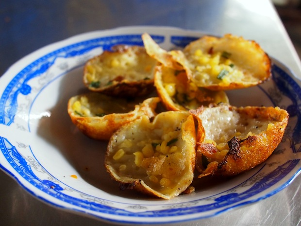 Recipe for Vietnamese Banh Khot, Mini Fried Rice Pancakes