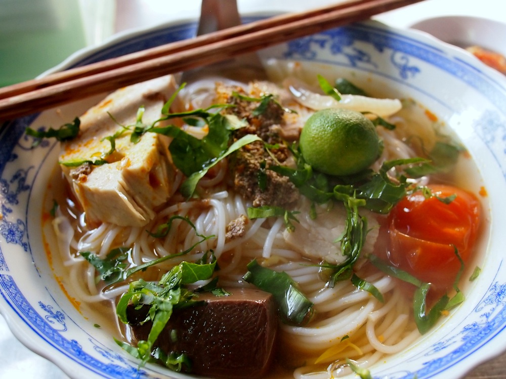 Pleading for Bun Rieu Soup in Cai Rang