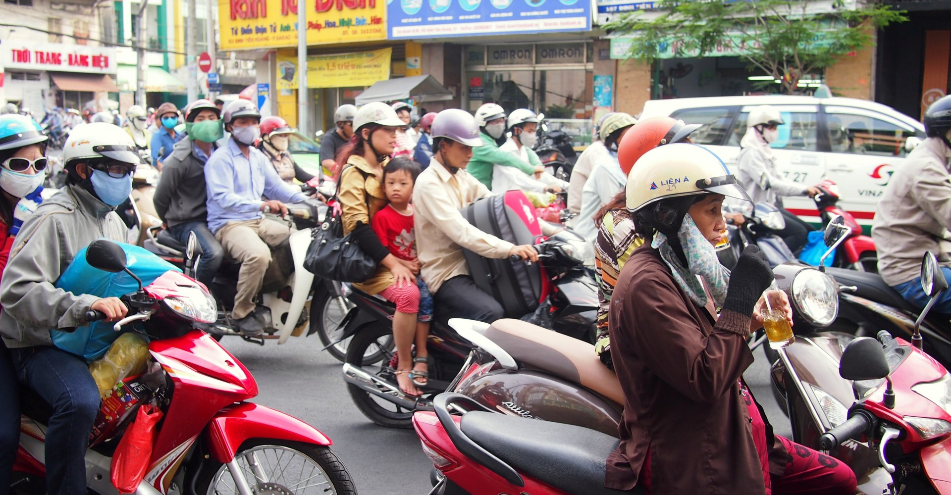 Saigon's Xe Om: Motorcycle Taxi Drivers that Made Me Smile