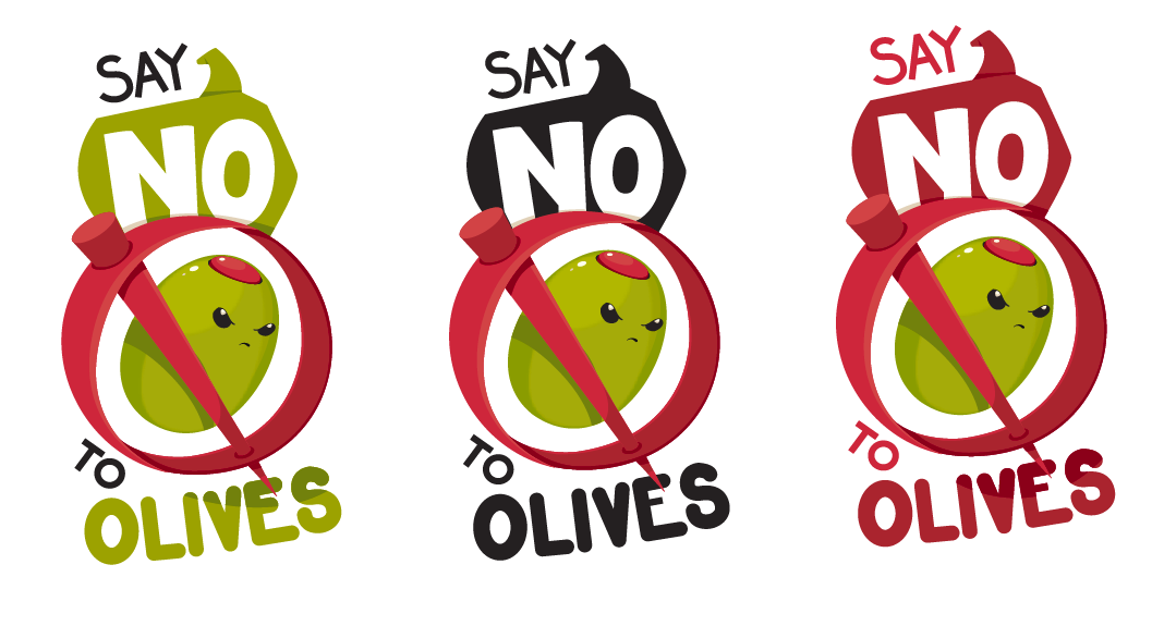 "Olive Haters: Your ""Say No To Olives"" T-Shirt has Arrived"