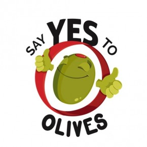"""Say Yes to Olives"" t-shirt in the shop"
