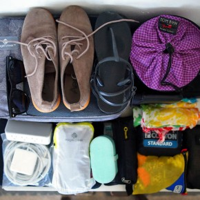 packing for travel, years later.