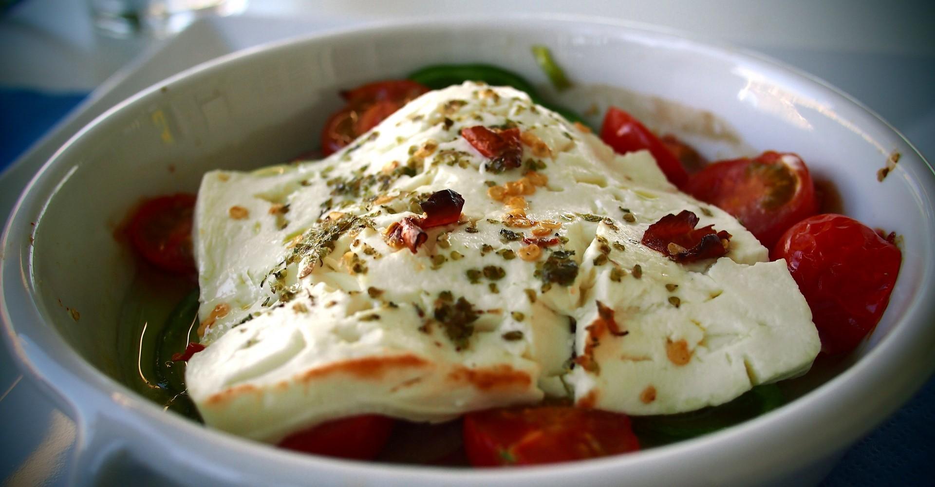 Spicy Baked Feta Recipe From Greece