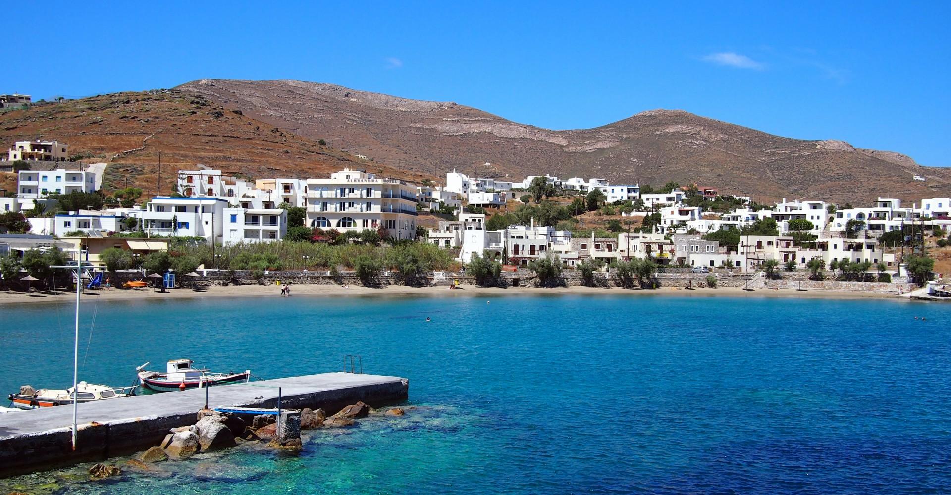 A Month on Syros, Greece: Ermoupoli, Finikas & a Lot of Blue
