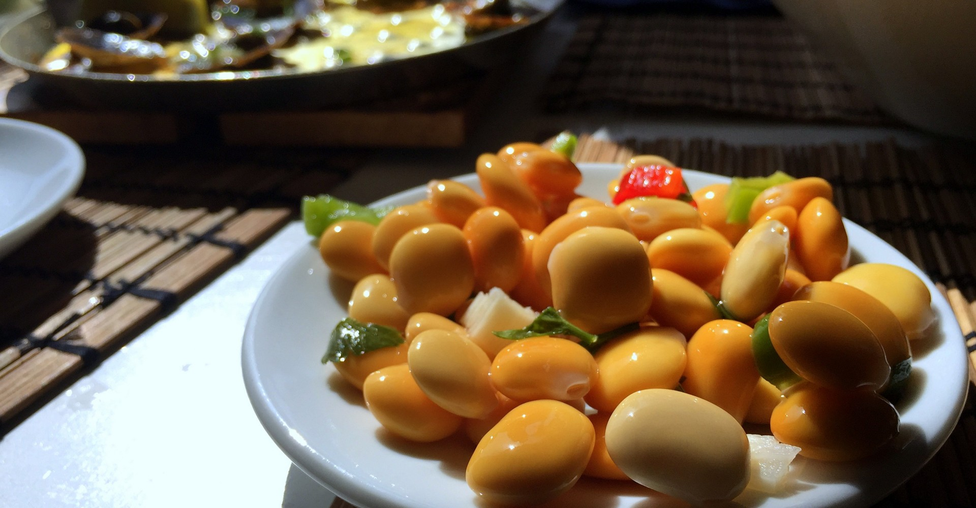 Recipe for Marinated Tremoços (Lupini beans) from Portugal