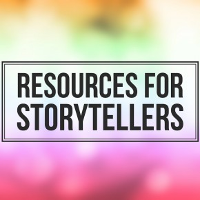 A resources page for storytellers
