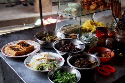 street food without getting sick