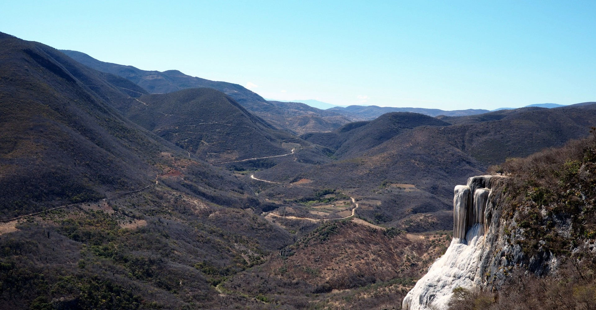 Hierve el Agua, Oaxaca's Petrified Mineral Waterfalls